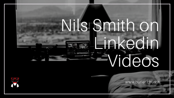 Lunch & Learn // Nils Smith on Linkedin Videos