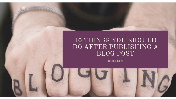 Lunch and Learn // Episode 33 10 Things You Should Do AFTER Publishing A Blog Post