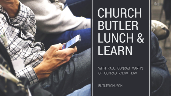 Lunch & Learn // Kenny Jahng Interviews Paul Conrad Martin of Conrad Know How