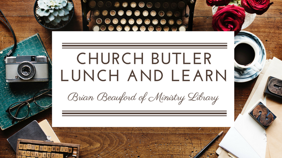Lunch & Learn // Kenny Jahng interviews Brian Beauford of Ministry Library