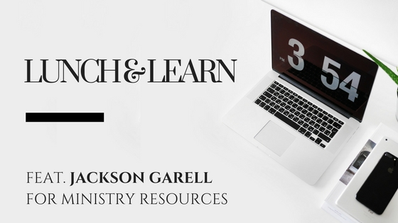 Lunch & Learn // Kenny Jahng Interviews Jackson Garrell of For Ministry Resources