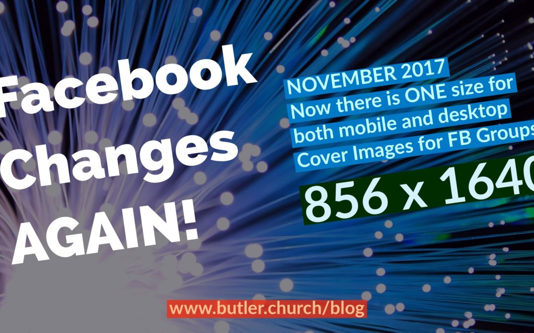 Facebook Changes Again: FB Group Cover Image Size Update