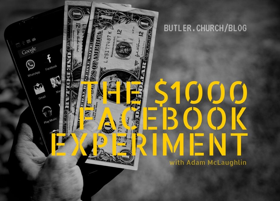 Giving Away $1000 Will Tell You A Lot