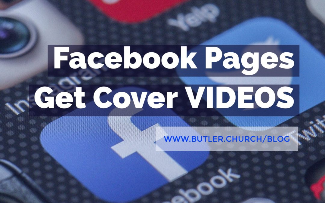 Facebook Pages Get Cover VIDEOS